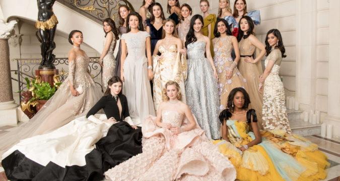 robes de soirée élégante des filles