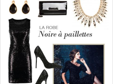 le look petite robe noire moderne et chic
