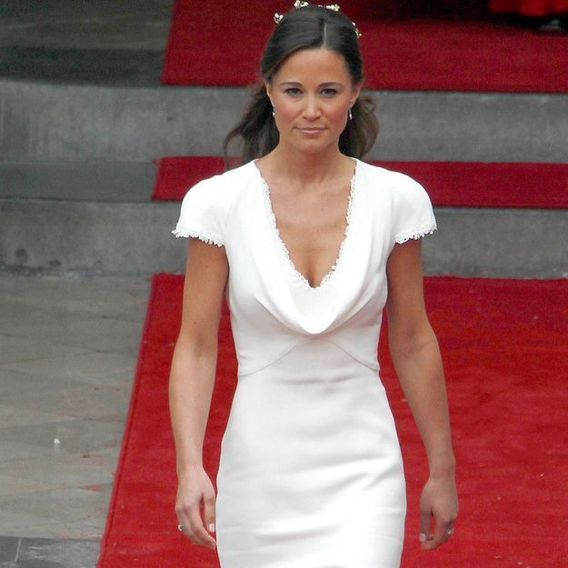 tenue blanche de Pippa-Middleton