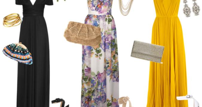 accessoire pour robe de soirée longue