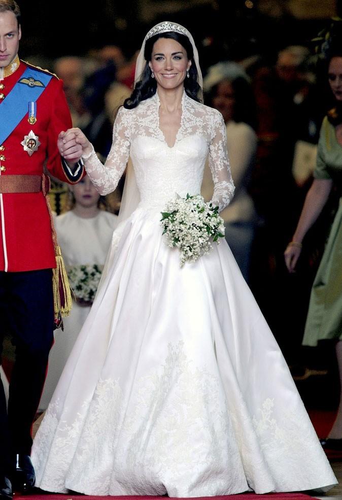 robe de mariée classique royale kate middleton