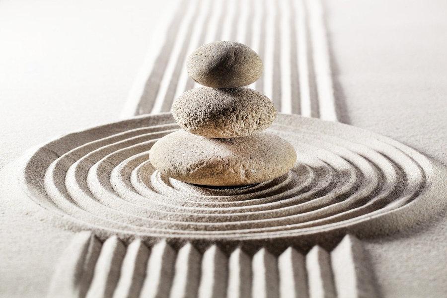 équilibre de la vie et de l'âme