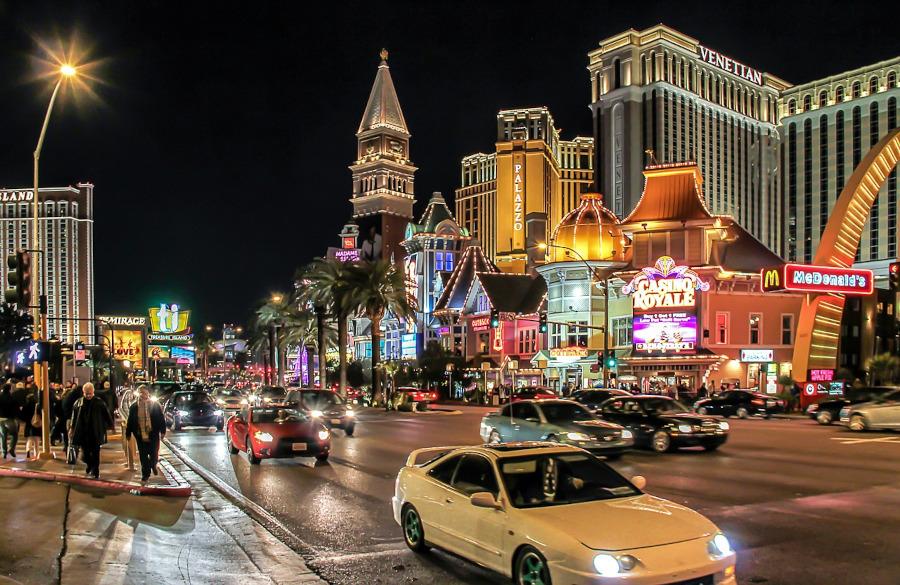 magie et magicien à Las Vegas
